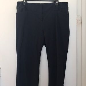 Navy Cassidy Fit Pant